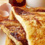 French toast cu sirop de artar