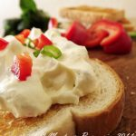 Retete de primavara: Crema de branza cu ardei si ceapa verde [*lacto-vegetarian]