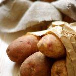 """Provocarea """"Dulce Romanie"""": Cartofi cu arome indiene inveliti intr-o lipie din trei tipuri de faina [*lacto-ovo-vegetarian] si bonus: o veste buna"""