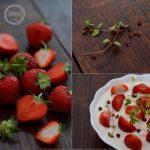 Retete de vara: capsuni cu iaurt, cimbru si piper roz sichuan