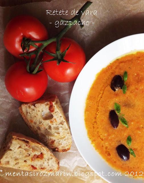 Retete Vegetariene de Vara Retete de Vara Gazpacho