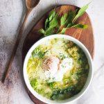 Ciorba de salata verde