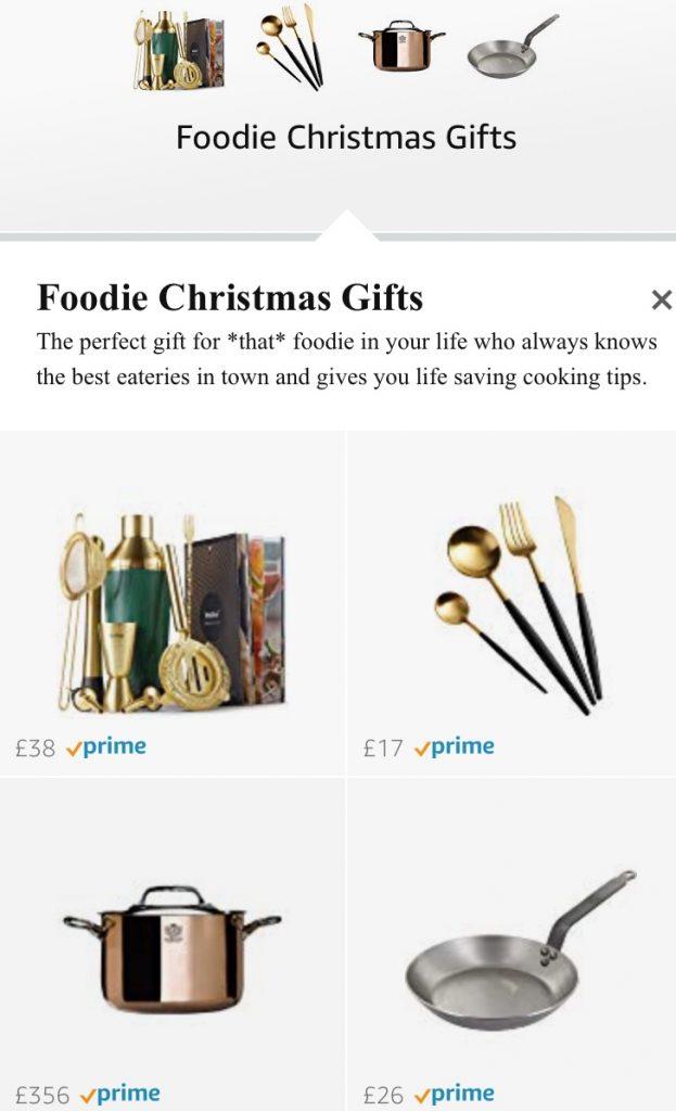 Foodie Christmas gifts - o lista cu recomandari pentru cadouri foodie de Craciun