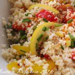 Taste of Morocco: Cuscus cu ardei si lamai murate [*vegan]